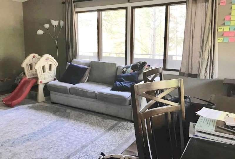 Living Room | Vacant Home Staging | Before | St. Paul | Minnesota