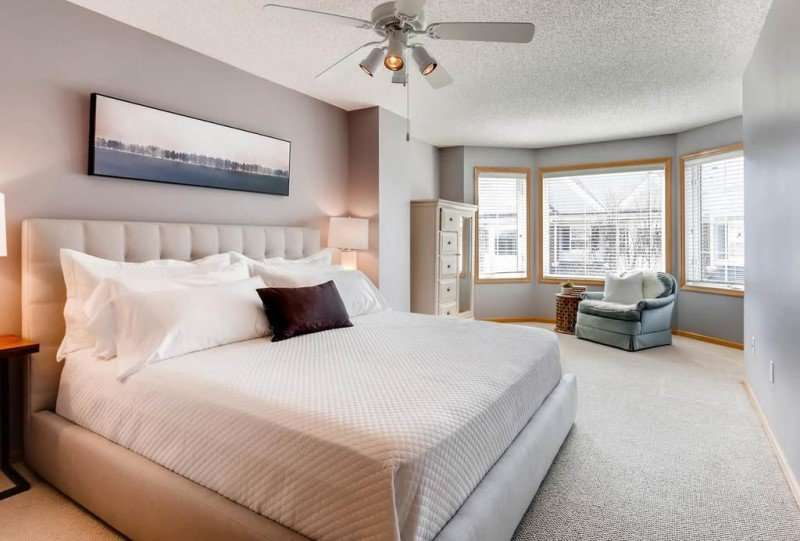 Occupied Home | Staging | St. Louis Park | Minnesota | Master Bedroom