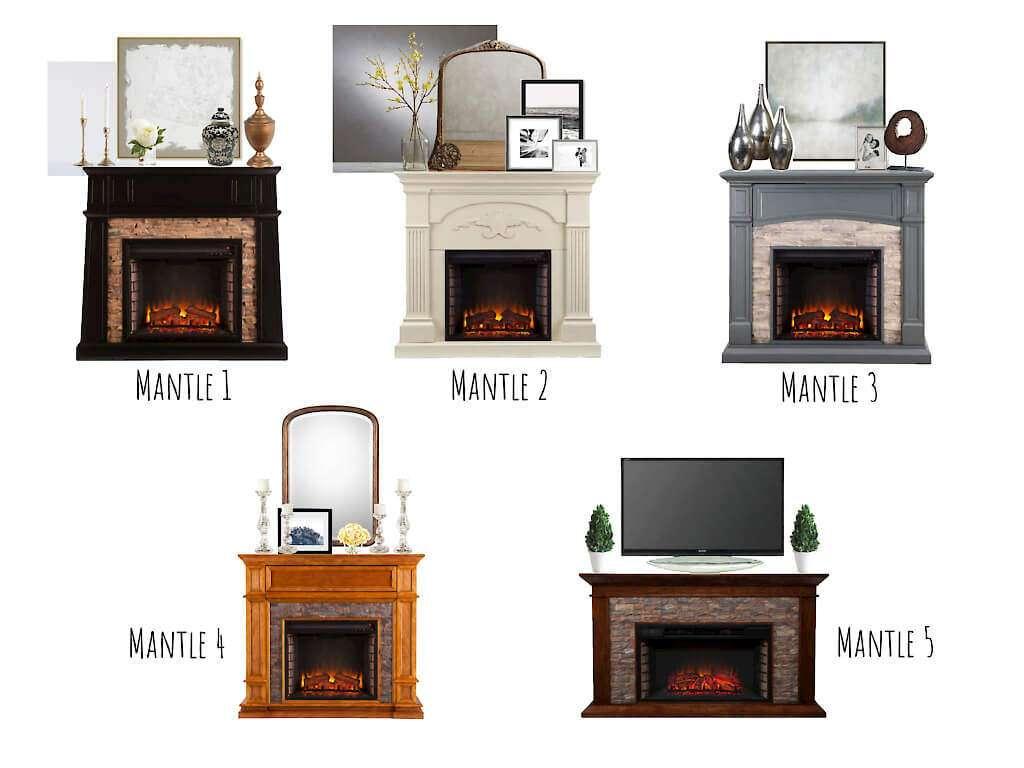 Mantle | Decor | Fireplace | Design