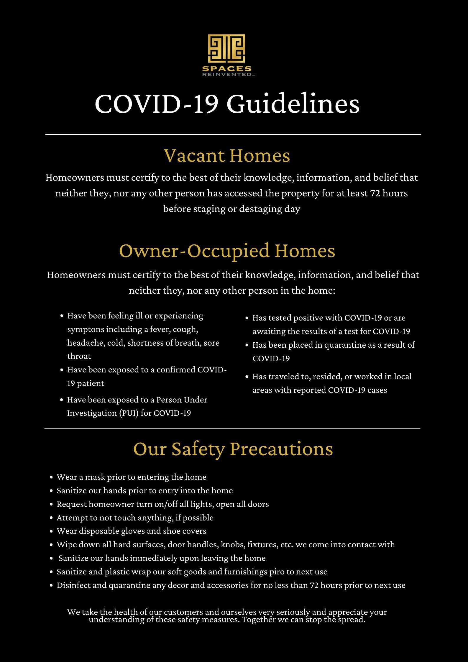 COVID-19 | Safety | Healthy
